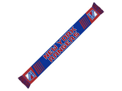 New York Rangers Knit Scarf Wordmark