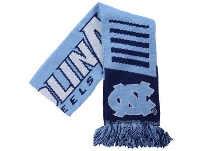 North Carolina Tar Heels Knit Scarf Wordmark