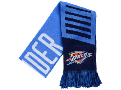 Oklahoma City Thunder Knit Scarf Wordmark