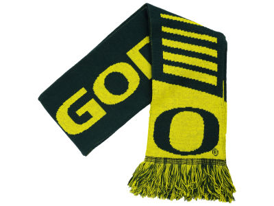 Oregon Ducks Knit Scarf Wordmark