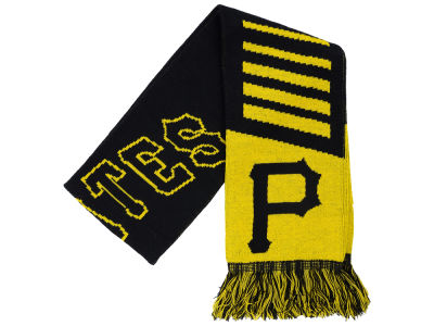 Pittsburgh Pirates Knit Scarf Wordmark