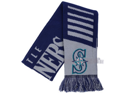 Seattle Mariners Knit Scarf Wordmark
