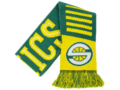 Seattle SuperSonics Knit Scarf Wordmark