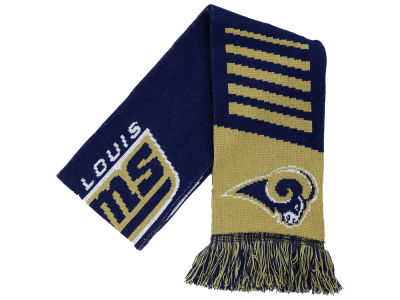 St. Louis Rams Knit Scarf Wordmark