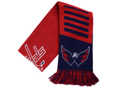 Washington Capitals Knit Scarf Wordmark