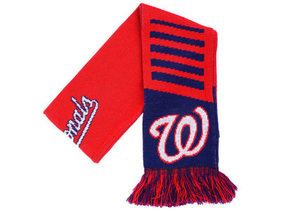 Washington Nationals Knit Scarf Wordmark