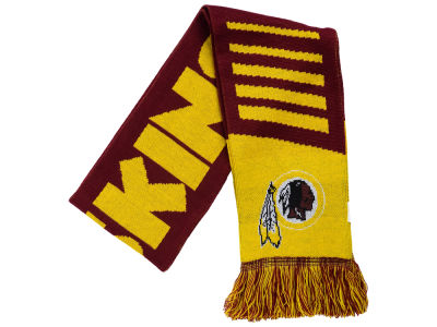 Washington Redskins Knit Scarf Wordmark