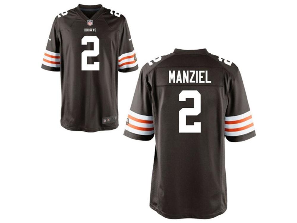 c78bd7f79 Cleveland Browns Johnny Manziel Nike NFL Men s Game Jersey