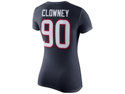Houston Texans Jadeveon Clowney Nike NFL Womens Player Pride T-Shirt