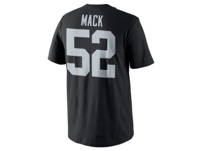 Oakland Raiders Khalil Mack Nike NFL Men's Pride Name and Number T-Shirt