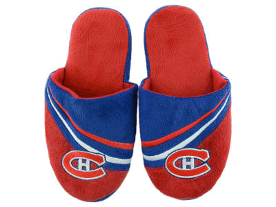 Montreal Canadiens Team Stripe Slippers