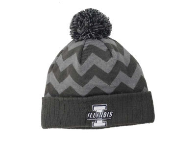 Illinois Fighting Illini Top of the World NCAA Chevron Pom Knit