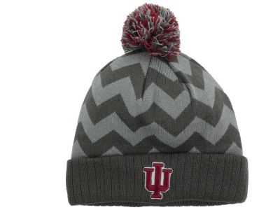 Indiana Hoosiers Top of the World NCAA Chevron Pom Knit
