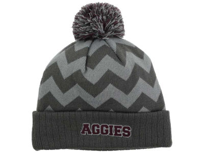 Texas A&M Aggies Top of the World NCAA Chevron Pom Knit