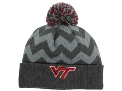 Virginia Tech Hokies Top of the World NCAA Chevron Pom Knit