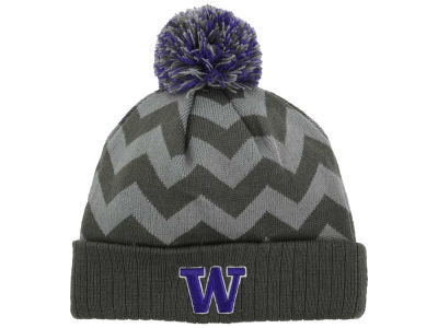 Washington Huskies Top of the World NCAA Chevron Pom Knit