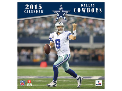 Dallas Cowboys 2015 12x12 Team Wall Calendar