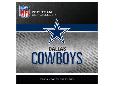 Dallas Cowboys 2015 BOX CALENDAR