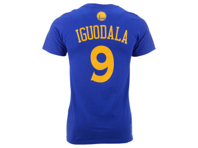 Golden State Warriors Andre Iguodala adidas NBA Men's Player T-Shirt