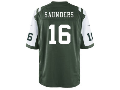 New York Jets Jalen Saunders Nike NFL Men's Game Jersey