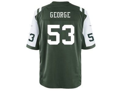 New York Jets Jeremiah George Nike NFL Men's Game Jersey