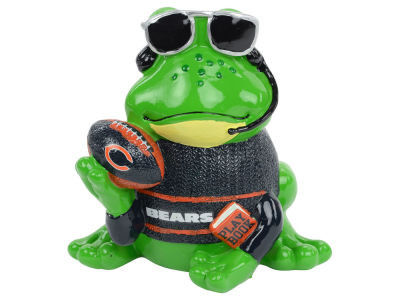Chicago Bears Thematic Frog Figure