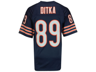 Chicago Bears Mike Ditka Mitchell and Ness NFL Replica Throwback Jersey