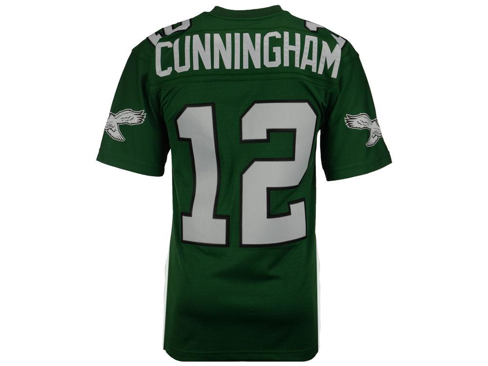 e767775f7 ... Philadelphia Eagles Randall Cunningham Mitchell Ness NFL Replica Throwback  Jersey .