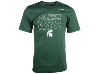 Michigan State Spartans Nike NCAA Men's Local T-Shirt