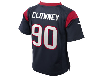 Houston Texans Jadeveon Clowney  NFL Toddler Game Jersey