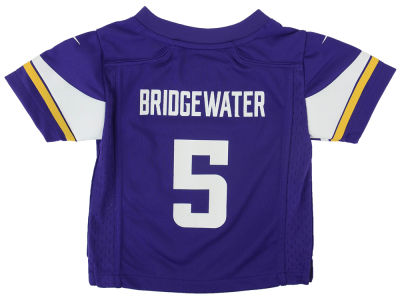 Minnesota Vikings Teddy Bridgewater Nike NFL Toddler Game Jersey
