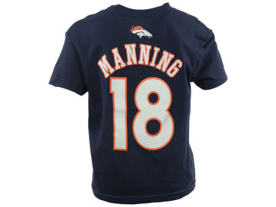 Denver Broncos Peyton Manning Outerstuff NFL Youth Mainliner Player T-Shirt