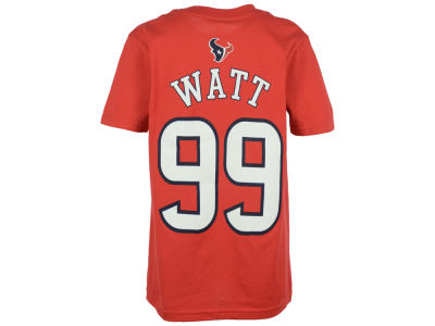 Houston Texans J. J. Watt Outerstuff NFL Youth Mainliner Player T-Shirt