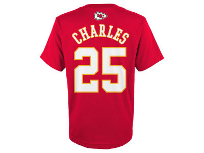 Kansas City Chiefs Jamaal Charles Outerstuff NFL Youth Mainliner Player T-Shirt