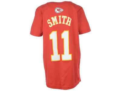 Kansas City Chiefs Alex Smith Outerstuff NFL Youth Mainliner Player T-Shirt