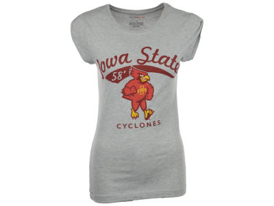 Iowa State Cyclones NCAA Womens Bruiser Tab T-Shirt