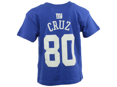 New York Giants Victor Cruz Outerstuff NFL Youth Mainliner Player T-Shirt