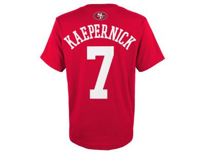 San Francisco 49ers Colin Kaepernick Outerstuff NFL Youth Mainliner Player T-Shirt