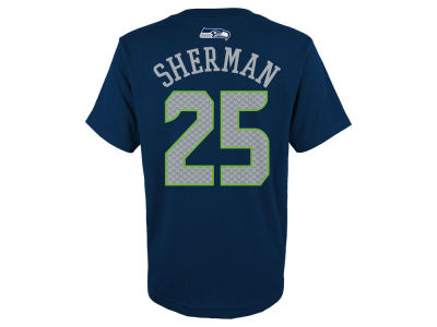 Seattle Seahawks Richard Sherman Outerstuff NFL Youth Mainliner Player T-Shirt