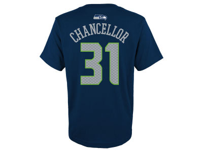Seattle Seahawks Kam Chancellor Outerstuff NFL Youth Mainliner Player T-Shirt