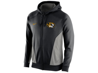 Missouri Tigers Nike NCAA Men's Basketball Performance Hero Full Zip Hoodie