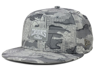 Crooks & Castle Custom Collection 59FIFTY Cap