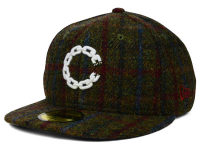 Crooks & Castles Chain C Harris Tweed 59FIFTY Cap