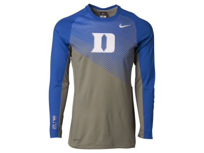 Duke Blue Devils Nike NCAA Men's Fearless Shootaround Long Sleeve T-Shirt