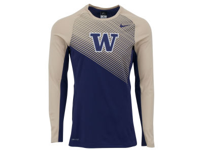 Washington Huskies Nike NCAA Men's Fearless Shootaround Long Sleeve T-Shirt