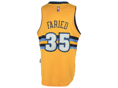 Denver Nuggets Kenneth Faried NBA Youth Swingman Jersey