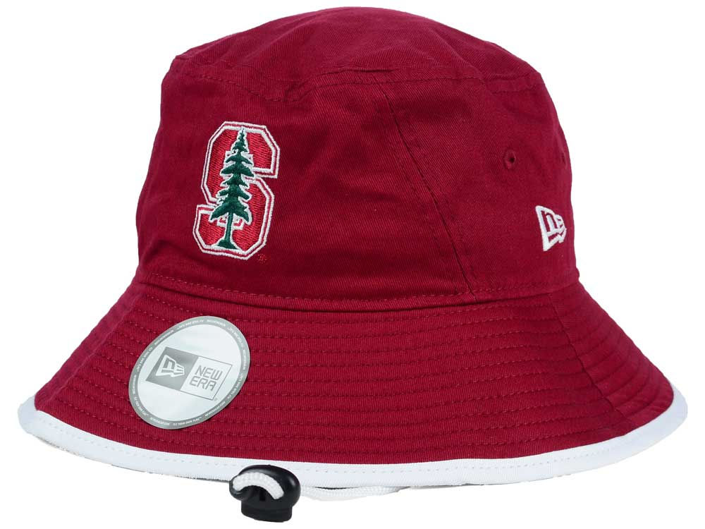 Stanford Cardinal New Era NCAA Tip Bucket  9d57525950ca
