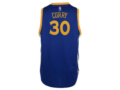 Golden State Warriors Stephen Curry adidas NBA Youth New Swingman Jersey
