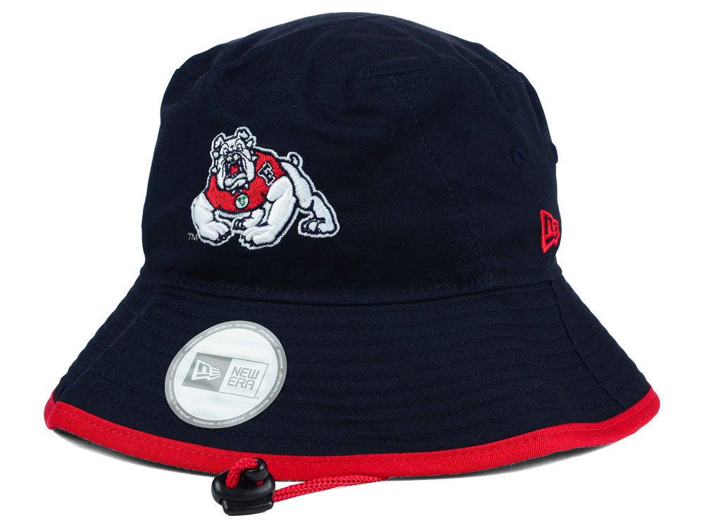 5125f09b8b9 Fresno State Bulldogs New Era NCAA Tip Bucket