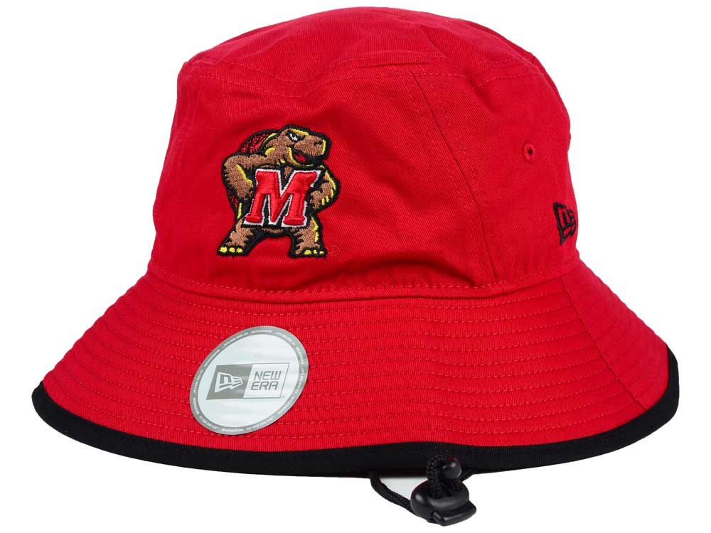 Maryland Terrapins New Era NCAA Tip Bucket  197ca35dbfef
